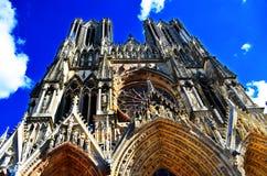 Notre Dame De Paris Cathedral View In París en Francia Imagen de archivo