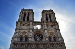 Notre Dame De Paris Cathedral View In Paris dans les Frances Photo stock