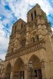 Notre Dame de Paris cathedrale church religion royalty free stock photos
