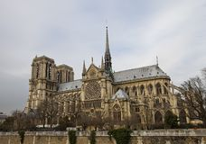 Notre Dame de Paris (circa 1345) Fotografie Stock