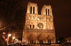 Notre-Dame de Paris de Cathédrale Imagem de Stock Royalty Free