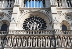 Notre Dame de Paris - detail Royalty Free Stock Image