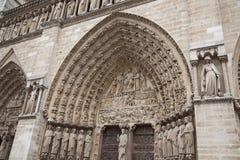 Notre Dame de Paris Royalty Free Stock Photo
