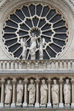 Notre Dame de Paris detail Royalty Free Stock Photos