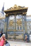 Notre dame de Paris door Stock Image