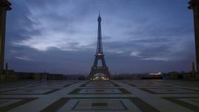 Notre-Dame de Paris e Seine River video estoque