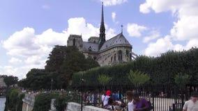 Notre-Dame de Paris almacen de video