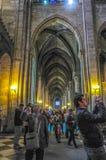 Notre-Dame de Paris en mayo de 2014 fotos de archivo