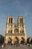 Notre Dame de Paris. Famous Notre Dame cathedral in Paris, France Stock Photos