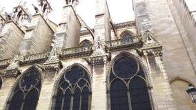 Notre Dame De Paris After The Fire arkivfilmer