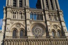 Notre-Dame de Paris fotografia de stock