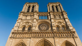 Notre Dame de Paris, França Fotos de Stock Royalty Free