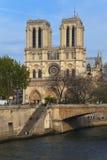 Notre Dame de Paris, France Imagem de Stock Royalty Free