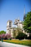 Notre Dame de Paris, France royalty free stock image