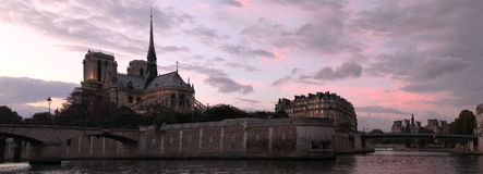 Notre dame de Paris - France Stock Images