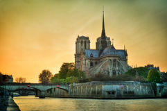 Notre dame de Paris - France Royalty Free Stock Images