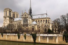 Notre Dame de Paris, France Photos stock