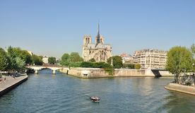 Notre Dame de Paris - France Stock Photo