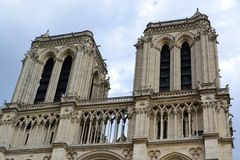 Notre Dame de Paris, France Stock Photos