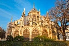 Notre dame de Paris, France. Stock Image