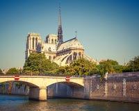 Notre Dame de Paris. Paris, France Stock Photos
