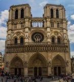 Notre-Dame de Paris. In paris France Royalty Free Stock Image