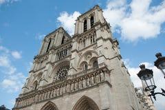Notre Dame de paris, france Arkivbilder