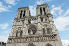 Notre Dame de paris, france Fotografering för Bildbyråer