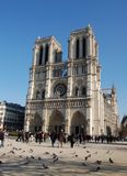 Notre Dame de Paris, France Imagem de Stock Royalty Free