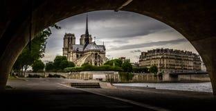 Notre Dame de Paris. In France Stock Images