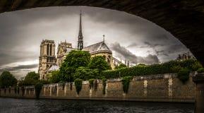 Notre Dame de Paris. In France Stock Image