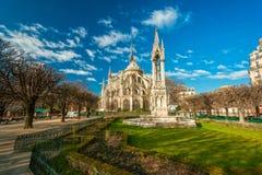 Notre dame de Paris, France. Royalty Free Stock Photography