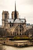 Notre dame de Paris, France. Royalty Free Stock Photos