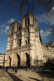 Notre Dame de Paris in France Royalty Free Stock Image