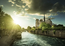 Notre Dame de Paris, France Royalty Free Stock Images