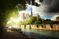 Notre Dame de Paris, France, Europa Royalty Free Stock Photography