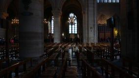 Notre Dame de Paris banque de vidéos