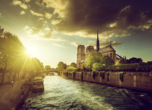 Notre Dame de Paris, France Stock Photography