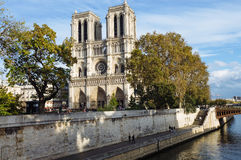 Notre dame de Paris - France Stock Photos