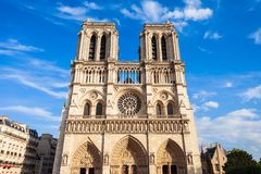 Notre Dame de Paris, Francia imágenes de archivo libres de regalías