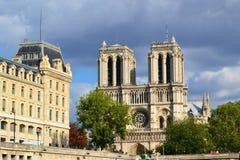 Notre Dame de Paris, Francia Immagini Stock
