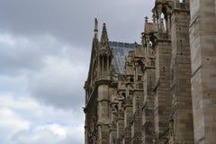Notre Dame de Paris, Francia Fotografia Stock