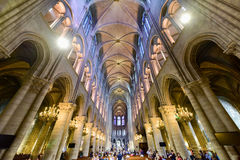 Notre Dame de Paris, Francia fotografia stock libera da diritti