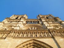 Notre-Dame de Paris Francja, Europa - obraz stock