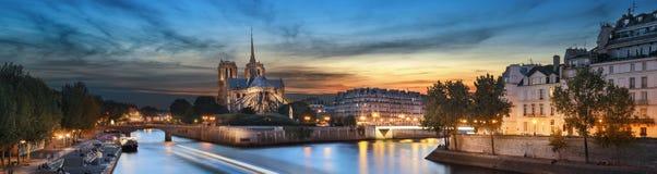 Notre Dame de Paris, Frankrijk Stock Foto