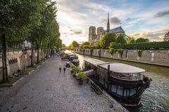 Notre Dame de Paris, Frankrijk Royalty-vrije Stock Fotografie