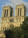 Notre Dame de Paris, Frankrike Arkivbilder