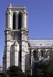 Notre Dame De Paris, Gothic Cathedral, France Royalty Free Stock Photography