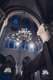 Notre Dame de Paris, interior Royalty Free Stock Image