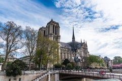 Notre-Dame de Paris stock foto